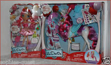 LOT 2 - La Dee Da Fairytale Dance PRANCIE Stallion HORSE + DEE the Frog Doll NEW