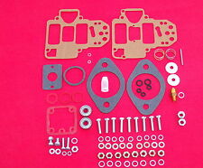 WEBER 45 DCOE CARBURETTOR SERVICE KIT . COVER SCREWS , BEARINGS , SPINDLE NUTS