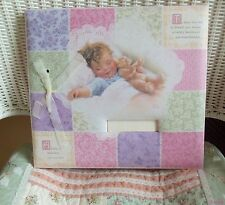 Baby Girl Scrapbook Album~Hopes Dreams & Memories-Bessie Pease Image~12 X 12