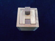 Haselgrove Box wood brain teaser puzzle
