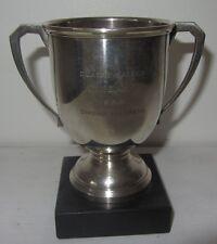 Trophée Coupe golf argent massif Art Déco - 1955 Silver golf trophy