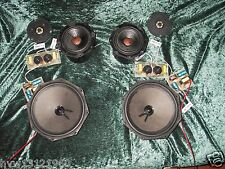 2x COMPLETE SETS of 70ies VINTAGE PHILIPS STEREO SPEAKERS