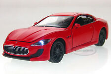 1:32 Maserati GT Alloy Diecast Car Model Toys Vehicle Gift Sound&Light Red 2224