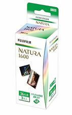 FUJI Color Film  NATURA 1600  36 exposures  3 bottles are packed.