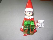 """Elf on the Shelf Scout with Candy Container NIP 5 1/2 """" Plastic"""