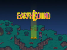 Super Nintendo Snes EarthBound Logo Game  Fridge Magnet  Decor #4