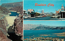 BOULDER CITY NV LAKE MEAD & HOOVER DAM CHROME P/C