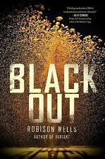 Blackout 1 by R. Wells sc ARC + The Forbidden Orchid hc & Click Here to Start hc