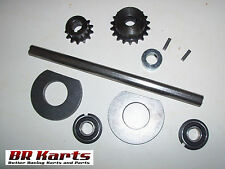 "Jackshaft Kit for Mini-Bike Chopper or Go-Kart, 5/8"" x 10"", #35 Chain - NEW"