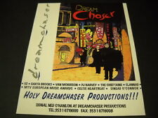 U2 Holy Dreamchaser Productions 1995 cartoon style Promo Poster Ad mint cond