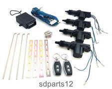 Universale Kit Di Chiusura Centralizzata Senza Chiave Telecomando 2/4 Porte