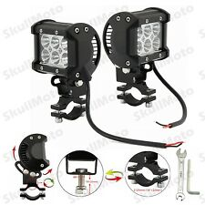 Adjustable Motorcycle Dirt Bike ATV 18W CREE LED Driving Spot Spotlight Light