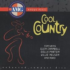 AMG: Cool Country Various Artists MUSIC CD Campbell Parton Nelson Free Ship!