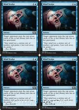 4x MIND SCULPT M15 Magic 2015 MTG Blue Sorcery Com