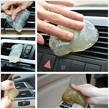 Universal Auto Interior Dashboard Armrest Box Dust Hairs Cleaning Soft Gel Glue