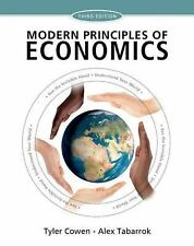 NEW - Modern Principles of Economics by Cowen, Tyler; Tabarrok, Alex