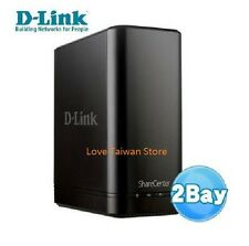 New D-LINK DNS-320L ShareCenter 2-Bay Cloud Network Storage Enclosure -Free Ship