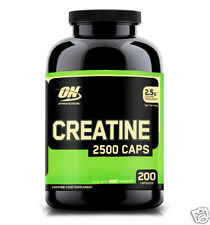 Creatine 2,500mg by Optimum Nutrition Fast-Release Muscle Support (200 Capsules)