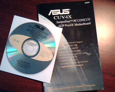 ASUS CUV4X JumperFree PC133/VC133 AGP Motherboard User's Guide Manual WITH CD