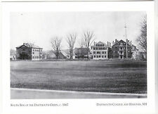 "*Postcard-""S Side of Dartmouth Green""-1867-Dartmouth College & Hanover NH (#166)"