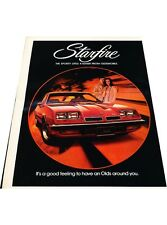 1975 Oldsmobile Starfire -  Vintage Advertisement Car Print Ad J414