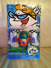 Dexter's Laboratory Rocket Ship Cartoon Network Action Figure NIP!!