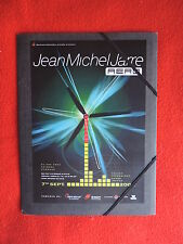 JEAN MICHEL JARRE PRESS-KIT 2002 Aero presskit concert Demmark ULTRA RARE