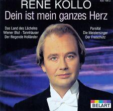RENE KOLLO : DEIN IST MEIN GANZES HERZ / CD (BELART 450 196-2) - NEU