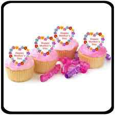 Mothers Day 30 x 4cm Stand Up Cupcake Toppers Mother's Day Cup Cake Decorations