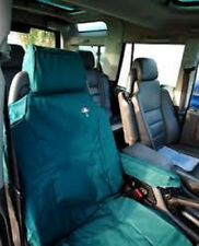LAND ROVER DISCOVERY 2 1998-2004 FRONT SEAT WATERPROOF SEAT COVERS SET - GREEN