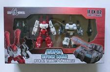 New Iron Factory IF EX-02 Turrets & Manacle for Transformers FOC Titan Metroplex