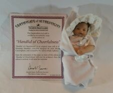The Ashton - Drake Galleries Handful of Cheerfulness Colectable Doll COA