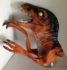 "1996 Jurassic Park RAPTOR 12"" Rubber Puppet The Lost World Vintage Movie Toy"
