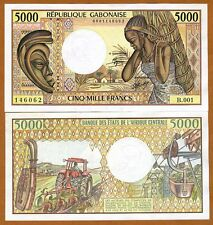 Gabon, 5000 francs, ND (1984), Pick 6 (6a),UNC