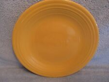 HOMER LAUGHLIN CHINA Yellow Dinner Plate VINTAGE FIESTA exc