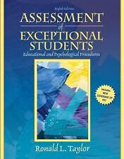 Assessment of Exceptional Students by Ronald L. Taylor (2008, Paperback)