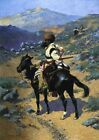 Frederic Remington Trapper Oil Painting repro
