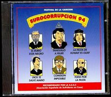 EUROCORRUPCION 94 - Humor Festival De La Cancion - SPAIN CD Alfa Delta 1994