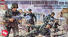 Airfix 1/32 German Infantry 1939-45 Multipose Military Figures(Original 1976)MIB