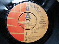 Frank Jennings Syndicate ‎Love Is The Answer (To My Dreams) EMI Demo 1977 7""