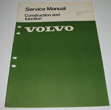 Service Manual Volvo 240 B21 / B 21 Engine Construction and Function 08/1974!