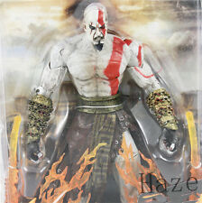 "New 7"" NECA God of War 2 Kratos flame Action Figure movable joints Toys US*"