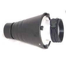 Spotvorsatz Snoot Konisch DynaSun SPT-PF Engstrahlreflektor mit Wabe für Profoto