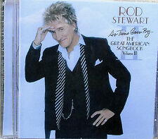ROD STEWART - AS TIME GOES BY-GREAT AMERICAN SONGBOOK Vol II - IN EX CONDITION