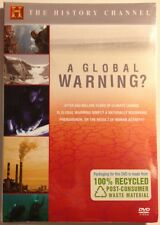 A GLOBAL WARNING? History Channel - NEW SEALED DVD!! Free First Class In U.S.