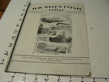 Vintage Travel Paper: THIS WEEK'S EVENTS IN QUEBEC 1937 august 14th