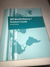 MS WORLD HISTORY I STUDENT GUIDE 2nd ed. ISBN#978-1-60153-496-5