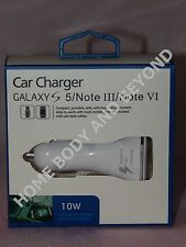 SAMSUNG LED Adaptive Fast Charging Dual USB Car Charger With USB Cable