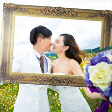 Photo Booth Props Antique Paper Frame Large Picture Frame wedding party Hot BKB