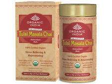 Organic India Tulsi Masala Chai - Combo Offer | Free Shipping Worldwide